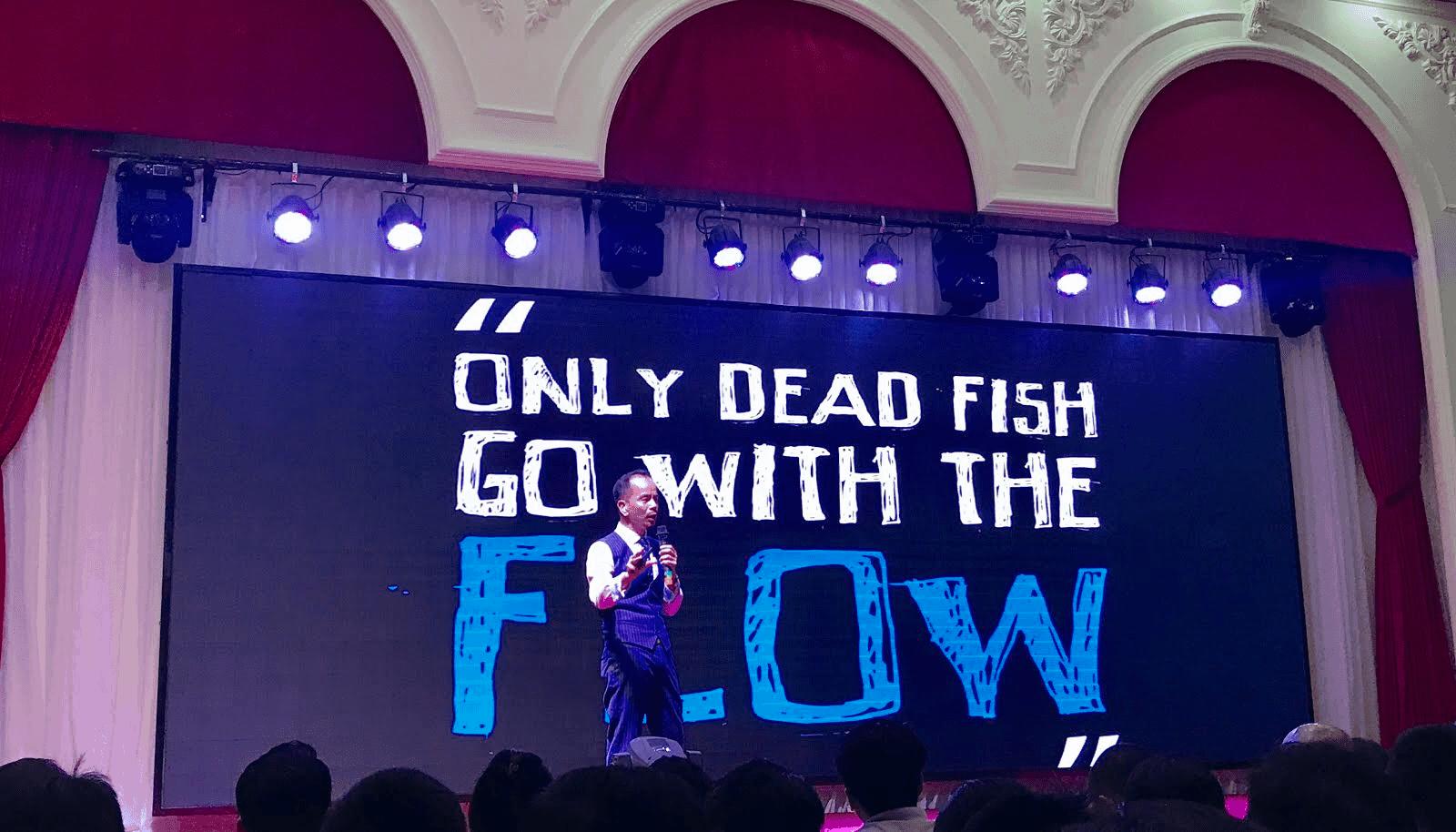 BRAND & CONTENT: Chỉ có cá chết mới bơi theo dòng!