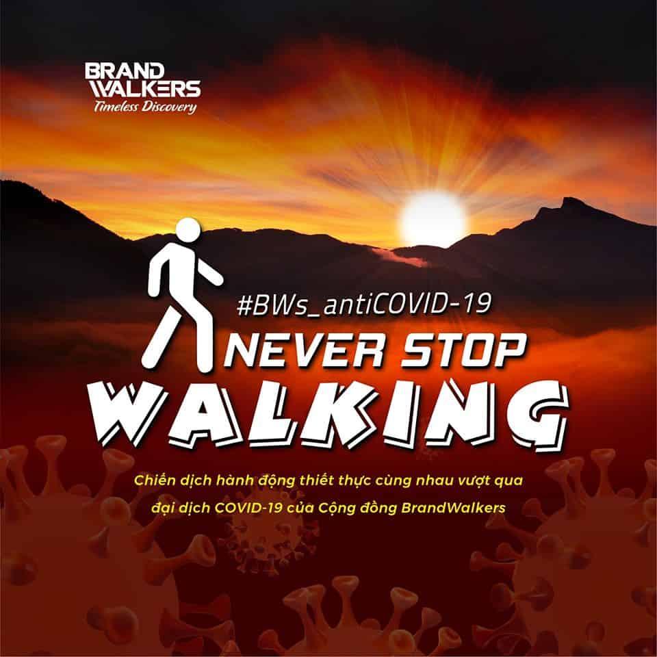 """Hai tuần đầu sôi nổi của chiến dịch """"Không dừng bước"""" - Brand Walkers"""