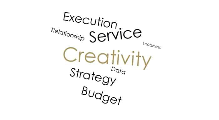 Sáng tạo'' là giá trị quan trọng nhất của một công ty quảng cáo