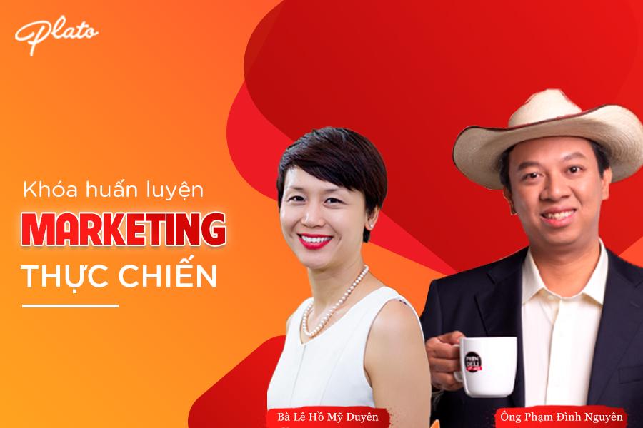 Khóa huấn luyện Marketing thực chiến (Actionable Marketing)
