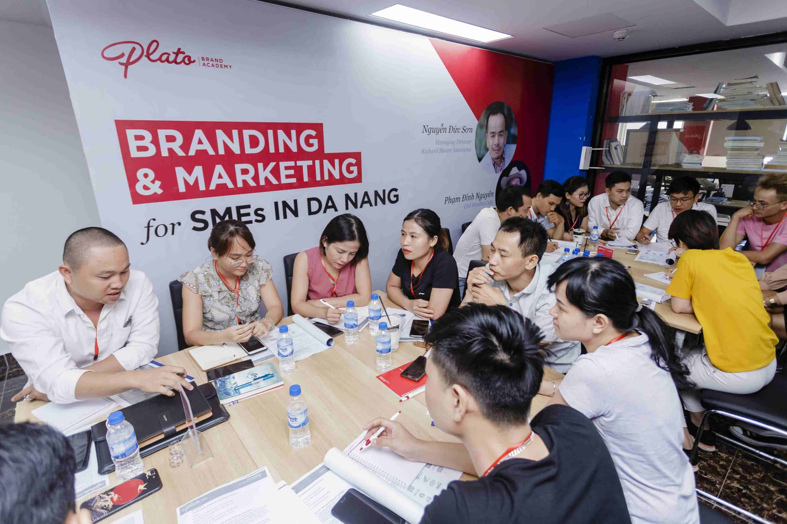 Khóa huấn luyện xây dựng thương hiệu và Marketing Đà Nẵng