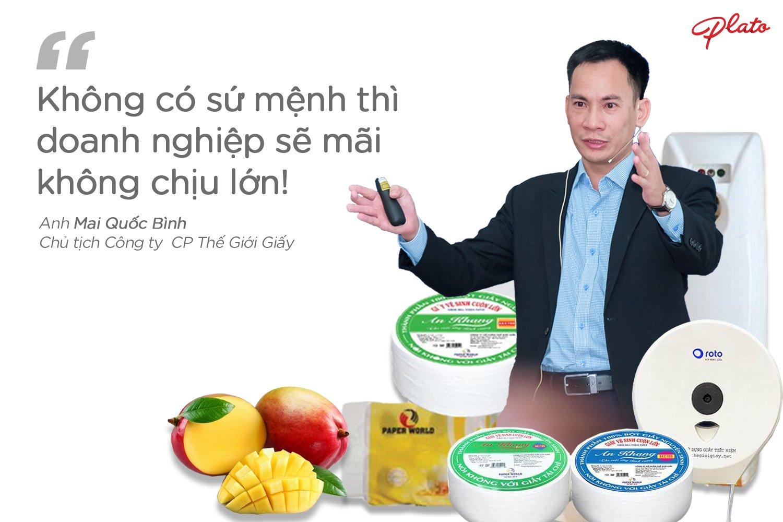 CEO Mai Quốc Bình: Sứ mệnh của lãnh đạo không chỉ nằm trên giấy!